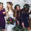 Brides are choosing to go it alone in 2017 - foregoing bridesmaids in favour of a smaller bridal party. Dan O'Day photography