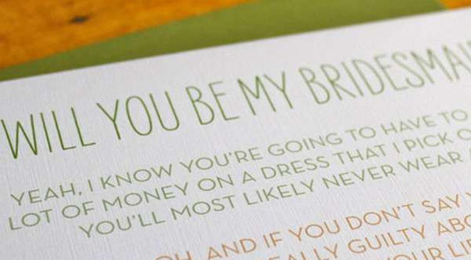This Could Be The Reason You Weren T Asked To Be Bridesmaid