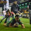 Cian Kelleher of Connacht scores his side's fourth try during the Guinness PRO12 Round 6 match between Connacht and Ulster at the Sportsground in Galway. Photo by David Fitzgerald/Sportsfile