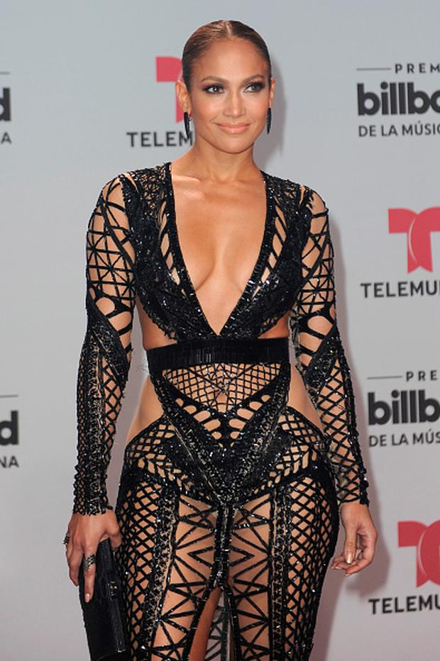 6a02ffcbbfb Jennifer Lopez attends the Billboard Latin Music Awards at Watsco Center on  April 27