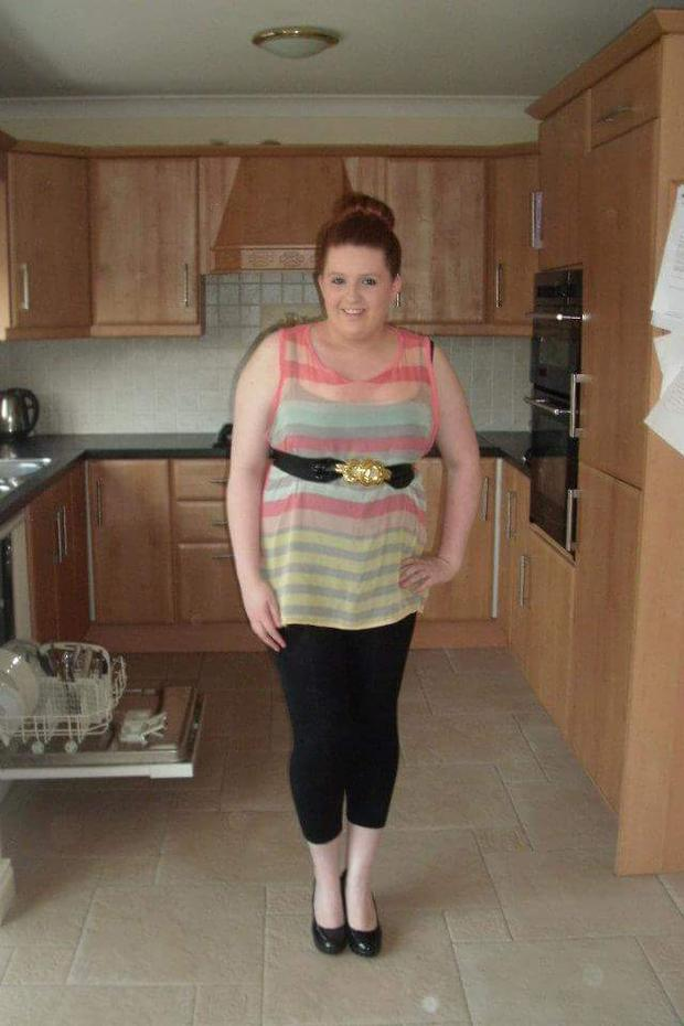 At her heaviest Sarah weighed more than 14st and was on the verge of diabetes Type 2