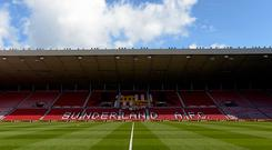 General view of the stadium prior to the Premier League match between Sunderland and West Ham United at Stadium of Light on April 15, 2017 in Sunderland, England. (Photo by Arfa Griffiths/West Ham United via Getty Images)