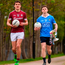 Dublin U21 co-captain Cillian O'Shea and Galway captain Michael Daly will take part in the EirGrid U21 football final in Tullamore today. Photo: Stephen McCarthy/Sportsfile