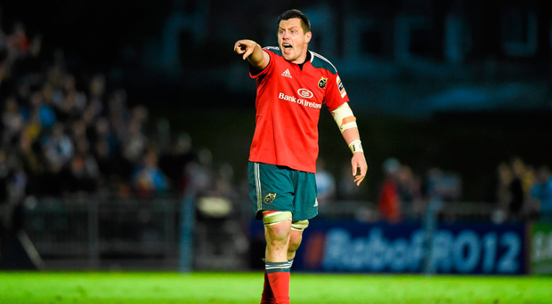 """James Coughlan: """"I had a fantastic eight years at Munster and I thank everyone involved with the province."""