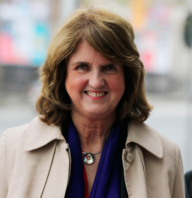 Joan Burton arrives at the Dublin Circuit Criminal Court yesterday Photo: Collins Courts