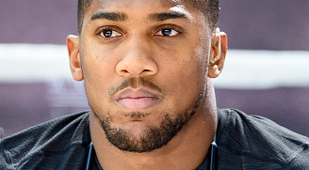 Anthony Joshua weighed in at a career-heaviest 17st 12lbs 10oz