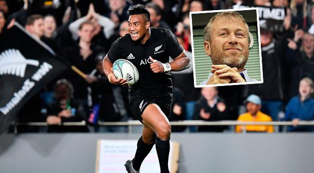 Savea and (inset) Abramovich