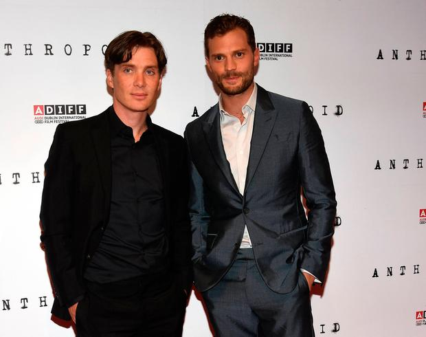 Cillian Murphy and Jamie Dornan at the Irish Premiere of Anthropoid at Cineworld, Dublin