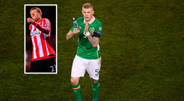 James McClean has revealed two incidents that led to him deciding to leave Sunderland