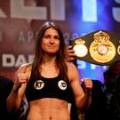 Katie Taylor takes on Nina Meinke in an eliminator for the WBA World Lightweight crown