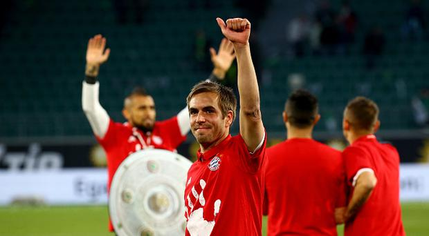Bayern win fifth straight Bundesliga crown with win at Wolfsburg
