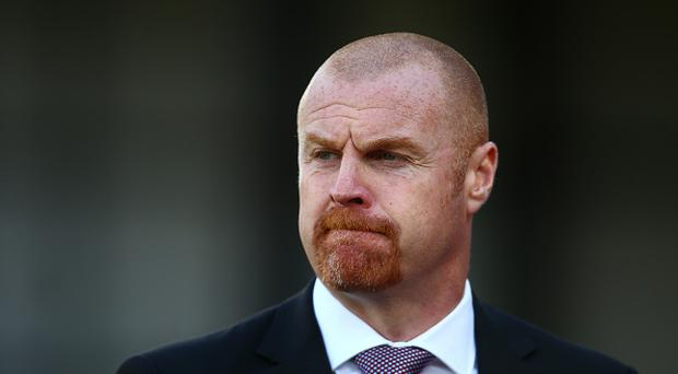 Sean Dyche, Manager of Burnley looks on prior to the Premier League match between Crystal Palace and Burnley at Selhurst Park on April 29, 2017 in London, England. (Photo by Jordan Mansfield/Getty Images)