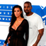 A bum rap: Kim Kardashian and Kayne West, adrift in a world of blurred reality and soft focus Photo: PA Wire