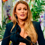 Fashion icon: Hollywood actress Blake Lively delivers her impassioned speech on the evils of child pornography after refusing to discuss her passion for fashion