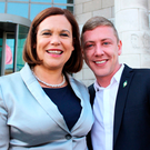 Sinn Fein: Mary Lou McDonald and Jonathan Dowdall