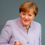 Both Angela Merkel and her nearest political rival are strong supporters of the EU project. Photo: Reuters