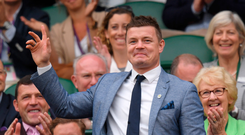 Brian O'Driscoll, who is a senior adviser with Teneo, was among guests at its fundraiser