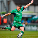 Marnitz Boshoff of Connacht kicks a penalty Photo: Diarmuid Greene/Sportsfile