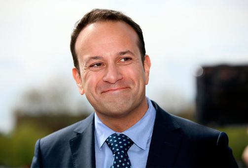CAMPAIGN: Minister for Social Protection Leo Varadkar launching the campaign combating welfare fraud. Photo: Frank Mc Grath