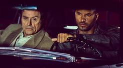 Ian McShane and Ricky Whittle on American Gods