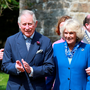 Prince Charles and Camilla visiting Donegal Castle last year Photo: Frank McGrath
