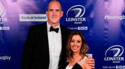 Devin Toner and his wife Mary at the Leinster Rugby Awards Ball. Picture: Stephen McCarthy/Sportsfile