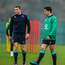 Ireland's Garry Ringrose, left, and Joey Carbery