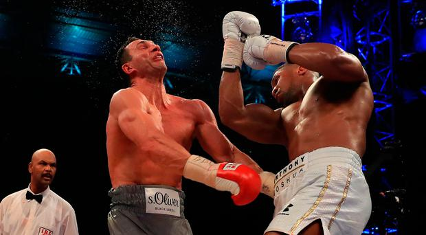 Joshua earns £15m payday from win over Klitschko
