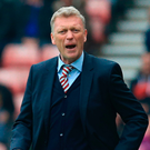 Sunderland's Scottish manager David Moyes gestures from the touchline during the match between against Bournemouth. Photo: Lindsey Parnaby/Getty Images