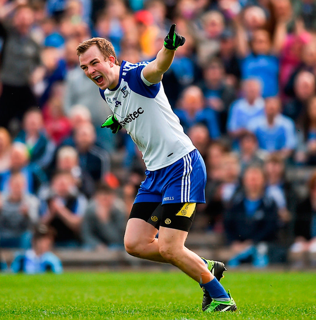Monaghan sharpshooter Jack McCarron. Photo by Philip Fitzpatrick/Sportsfile