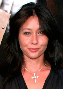Actress Shannen Doherty has announced that she is in remission from breast cancer Photo: PA/PA Wire