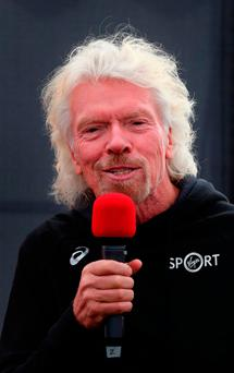 ycoon Richard Branson, who founded the British airline more than 30 years ago, said he would support a tax on dirty fuels. Photo: Gareth Fuller/PA Wire
