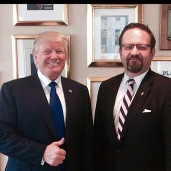 Sebastian Gorka is reportedly leaving the role (Image: Twitter)