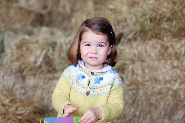 Photo released by the Duke and Duchess of Cambridge of Princess Charlotte taken by her mother at Anmer Hall in Norfolk in April. The Duke and Duchess of Cambridge will celebrate their daughter's second birthday on Tuesday May 2. PRESS ASSOCIATION Photo. Issue date: Photo credit: The Duchess of Cambridge/PA Wire