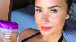 Demi was criticised for promoting a detox tea containing senna leaf on her Instagram account @ddlovato
