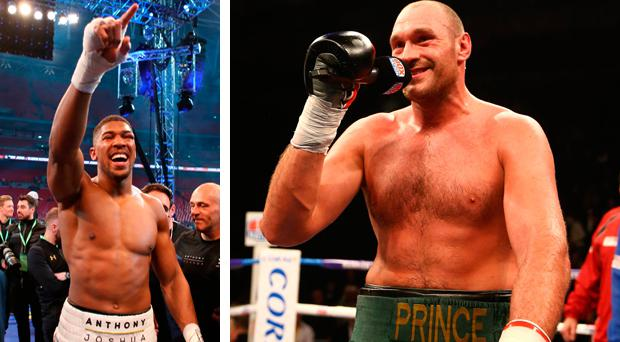 Tyson Fury says he will beat Joshua with one arm behind his back