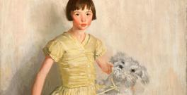 Margaret Clarke painted this image of her daughter Ann circa 1924. Photo © National Gallery of Ireland