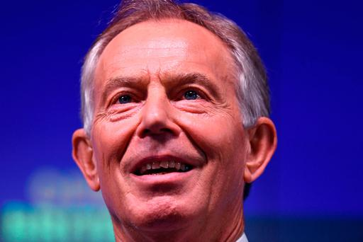 Ex-prime minister Tony Blair says UK will want to rejoin EU. Photo: PA