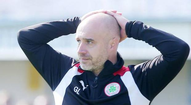 Rovers' Gerard Lyttle was left disappointed