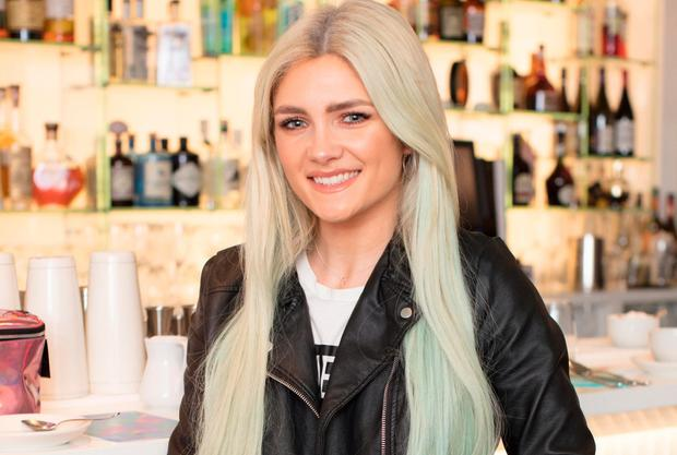 Niamh Cullen pictured at the launch of Penneys festival inspired 'Prism' cosmetics collection'in Urchin St. Stephen's Green. Photo: Anthony Woods