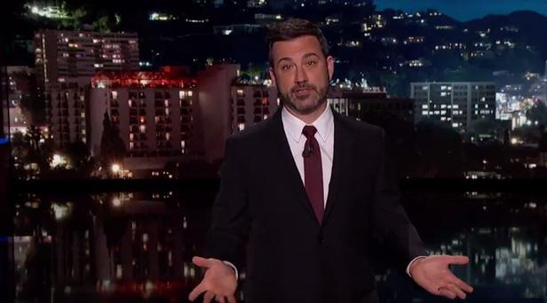 Jimmy Kimmel gets emotional talking about his newborn son's heart problems