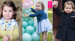 Princess Charlotte turns two. Images: Getty