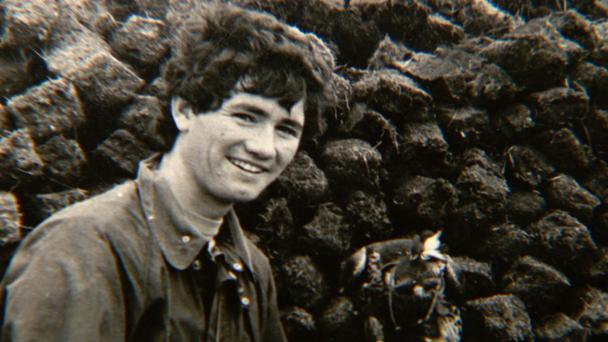 This photo of a young Robert Nairac was taken in Spiddal, Co Galway Photo: RTÉ