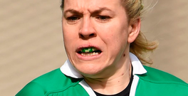 Ireland captain Niamh Briggs. Photo: Sportsfile