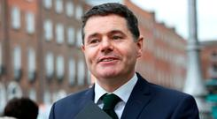 Minister Paschal Donohoe. Photo: Tom Burke