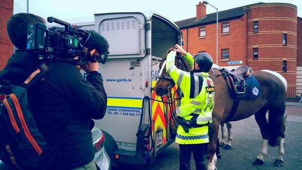 A shot from TV3 documentary 'Patrolling Paddy's'