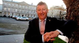 OPW and Flood Relief Minister Sean Canney says towns 'cannot be forced into a solution'. Photo: Tom Burke