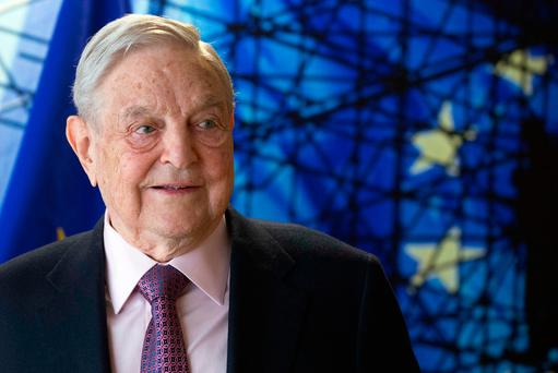 Billionaire George Soros. Photo: AP