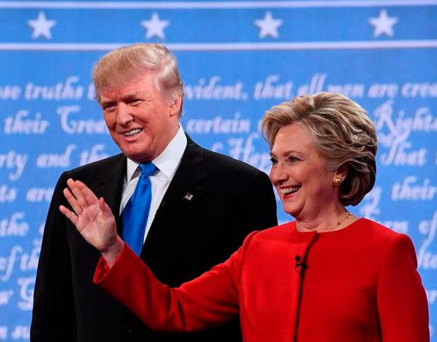 Donald Trump and Hilary Clinton. Photo: AFP/Getty Images