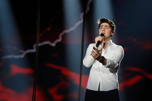 Ireland's Eurovision entrant Brendan Murray, Eurovision Photo: Andres Putting